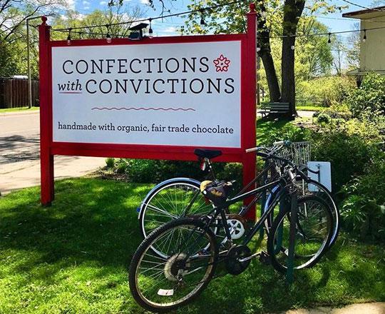 Confections with Conviction | Stuart Avenue BB | Kalamazoo, MI